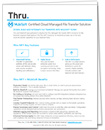 Datasheet: Thru MFT Connector for MuleSoft